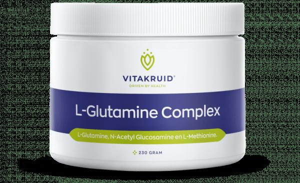 L-glutamine darmen darmslijmvlies leaky gut lekkende darm herstel