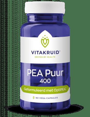 PEA puur 400 mg Palmitoyelethanolamid