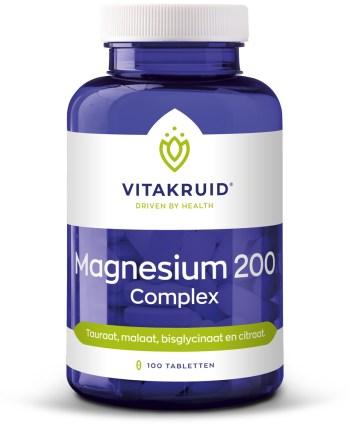 Magnesium complex energie spieren concentratie slaap
