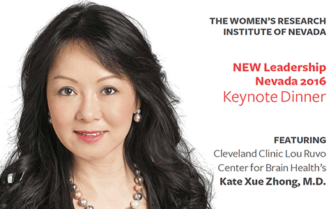 Dr. Kate Zhong of Healthy Brains Delivered Leadership Keynote at UNLV