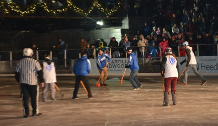Healthy Buffalo Broomball