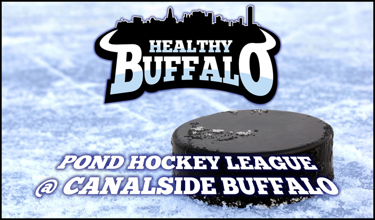 Pond Hockey at Canalside Logo 750