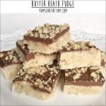 Butter Heath Fudge