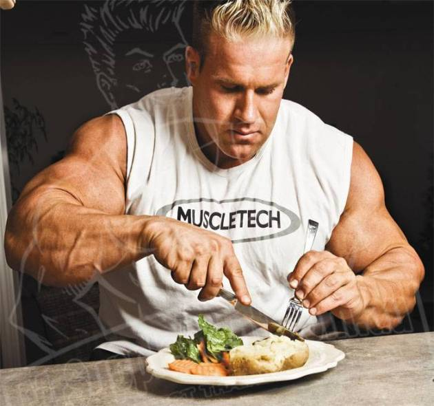 Jay-Cutler-eating-meal