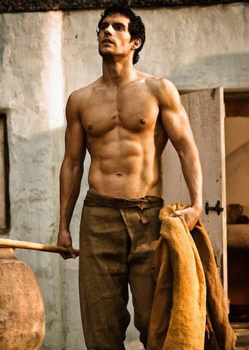 Image result for henry cavill body