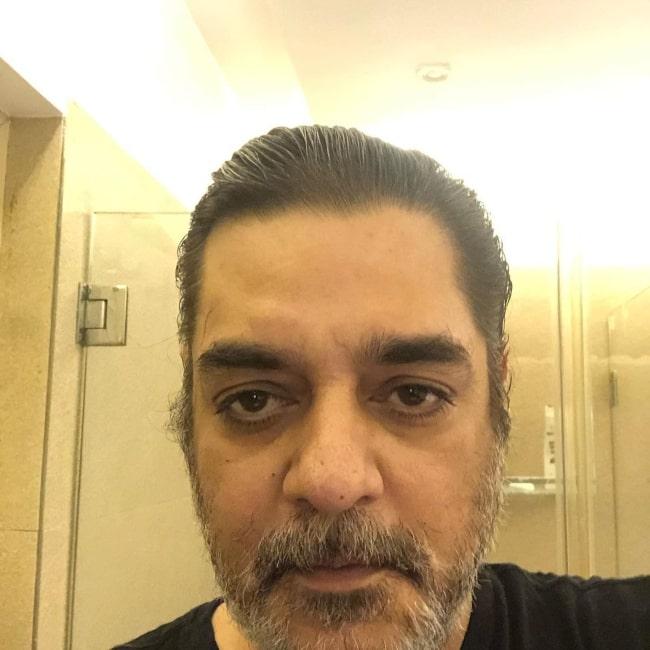 Chandrachur Singh as seen in a selfie that was taken in June 2021