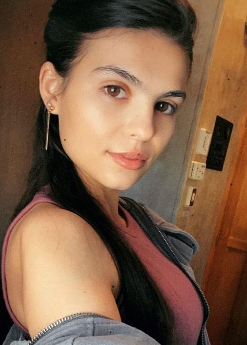 Jy Prishkulnik as seen in a selfie that was taken in May 2021