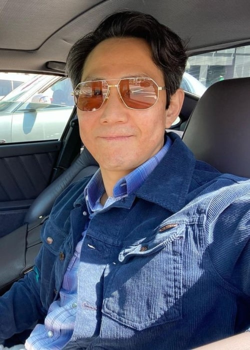 Lee Jung-jae as seen in an Instagram Post in August 2021