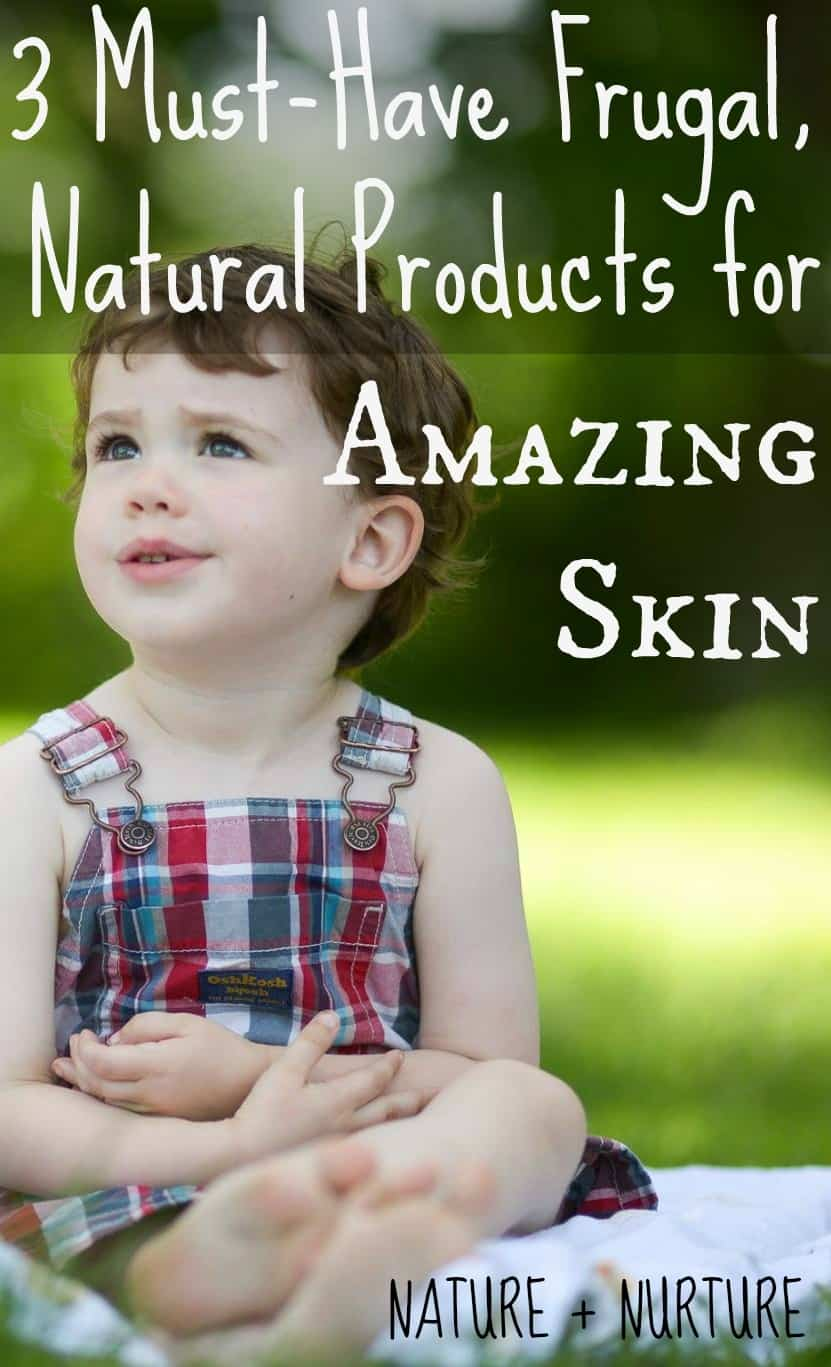 Frugal & Natural Skin Products to Try Now!
