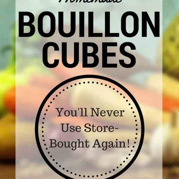 Homemade Bouillon Cubes