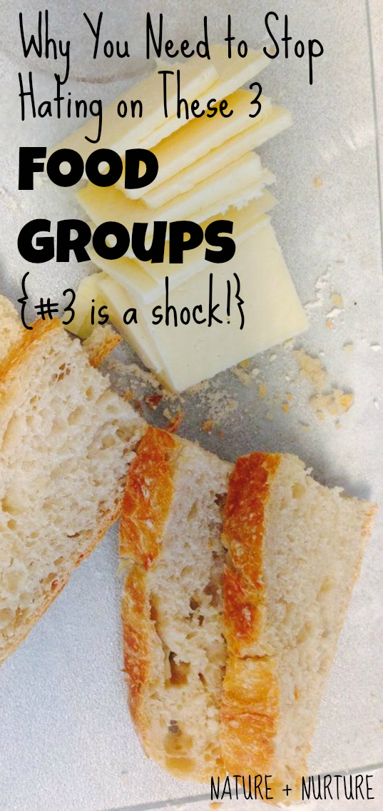 Why You Need to Stop Hating on These 3 Food Groups