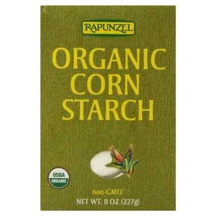 Box of Rapunzel brand organic cornstarch for natural deodorant.