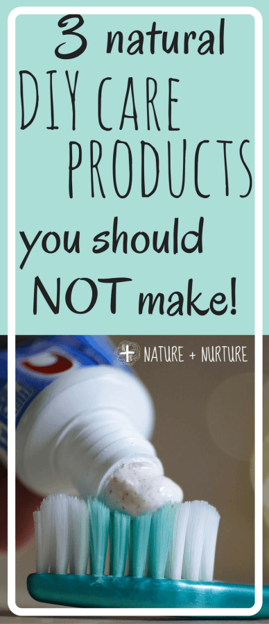 DIY care products are usually awesome, but what about those times when they're...not? Here are three products you probably shouldn't try to make yourself.