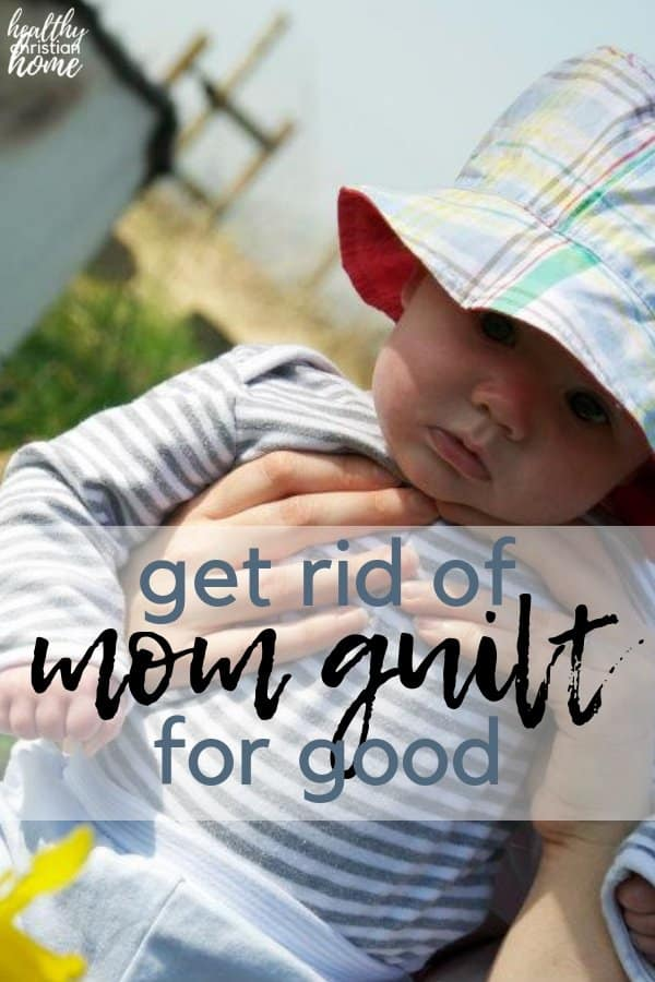 Mommy guilt seems to be a rite of passage into motherhood. Deal with mom guilt using this empowering letter written from the perspective of a child. #motherhood #momguilt #parenting