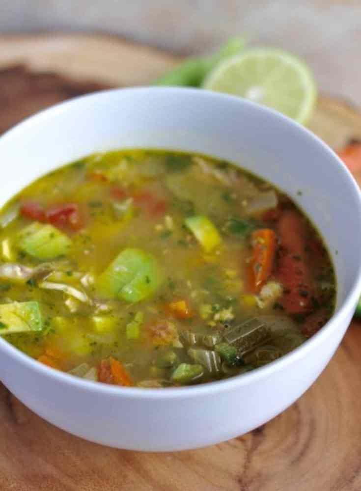 Chuy's Chicken Tortilla Soup {copycat recipe}