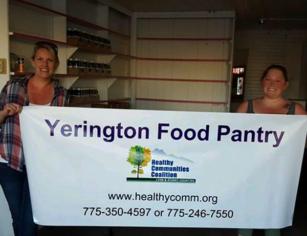 yerington pantry sign