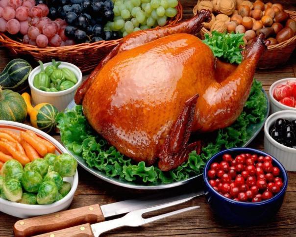 turkey with veg