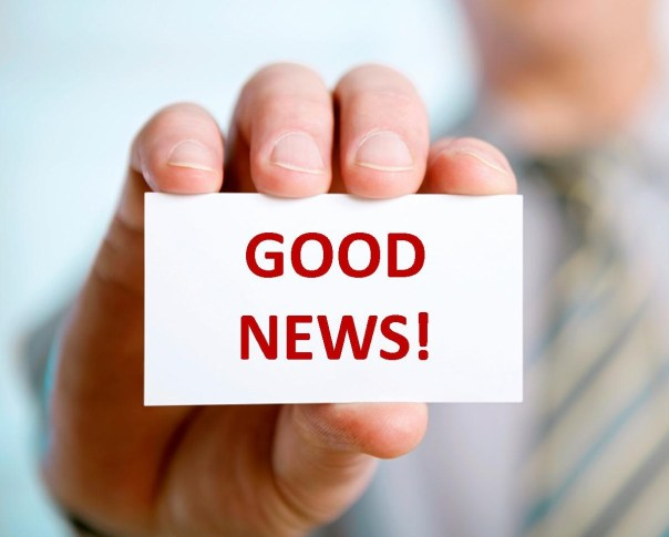 good news hand