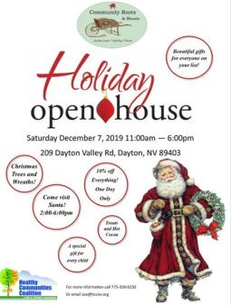 community roots holiday open house