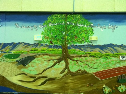 mural tree wide view