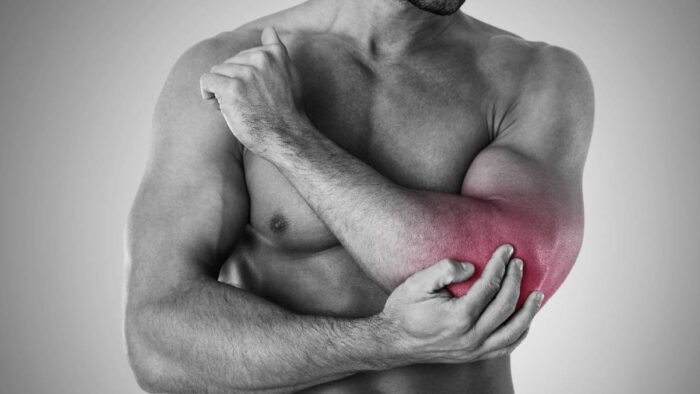 Pain in left arm and chest