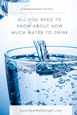 am i dehydrated? how much water should i drink a day