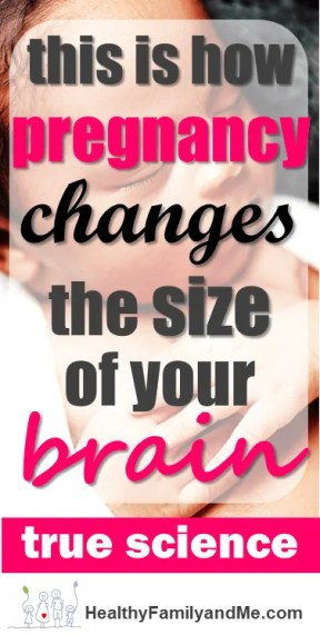 Pregnancy does change the size of your brain. Read now to learn how. #pregnancychanges #brainsize #baby #pregnancy