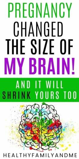 pregnancy changes your brain