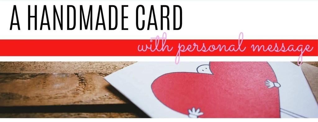 handmade Valentine's day card DIY
