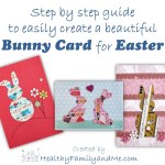 Easter card making step by step #cardmaking #freeprintables #freepicture #tutorial