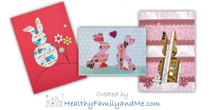 Create your own Easter card with free step-by-step