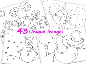Coloring Book For Kids For Brain Booster Magic Healthy Family And Me - Coloring-book-fun