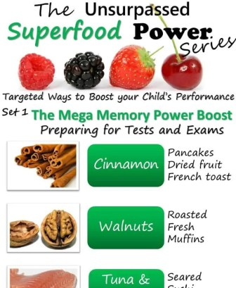 Infographic The Unsurpassed Superfood Power Series