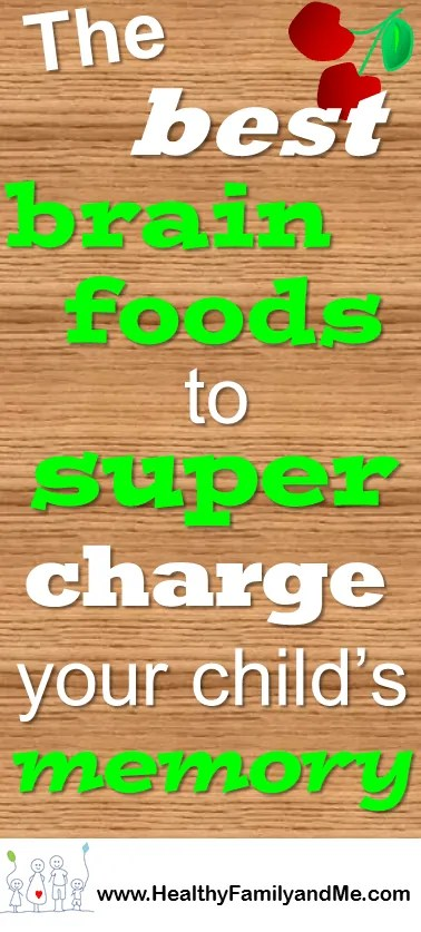 The best brain foods to supercharge your memory. The Unsurpassed Superfood power series. MegaMemory boost with HealthyFamilyandMe.com