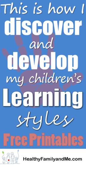 Learn all about Top Learning Styles for Kids. Discover the steps to successfully educate your child everyday #educatechild #smartkids #kidslearning #learningsstyles