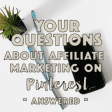 Organizeyourbiz Questions and answers on affiliate marketing on pinterest