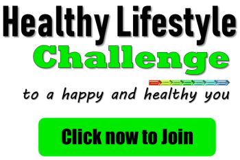 Join the Healthy Lifestyle Challenge to get the best tips to be energized, happy and healthy. #healthylifestylechallenge #healthylifestyle #weightloss #detox