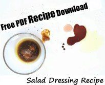 Salad dressing. Healthy, yummy and low carb. Perfect for any green salad. #saladdressing #lowcarbdressing #salad