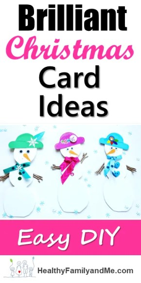 Modern and fun Christmas card ideas.. Beautiful Christmas DIY. Check it out now. #christmasideas #christmascard #christmascrafts #kidscrafts #carddiy