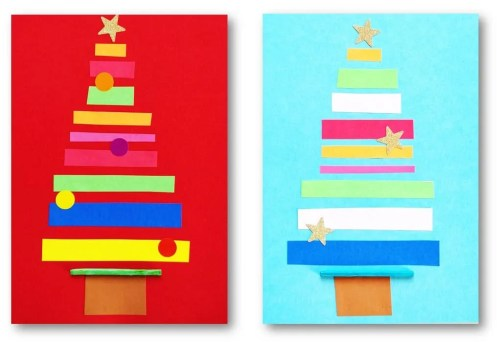 Christmas card ideas for kids. Great craft the kids can do for Christmas. Check it out now. #christmasideas #christmascard #christmascrafts #kidscrafts #carddiy