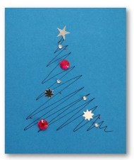 Modern Christmas card ideas.. Beautiful Christmas DIY. Check it out now. #christmasideas #christmascard #christmascrafts #kidscrafts #carddiy