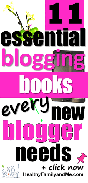 Top blogging books every new blogger needs. Discover your blogging potential today. Remember to pin for later. #bloggingbooks #blogging #startablog #bloggingforbeginners