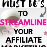 affiliate marketing cheat sheet