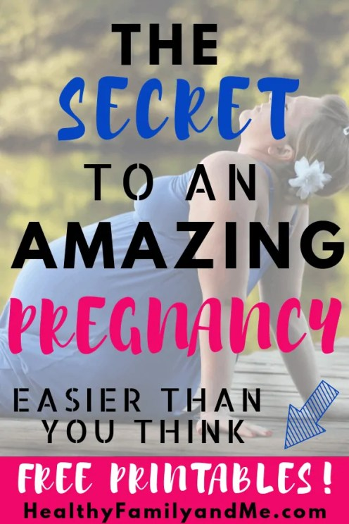 Discover the secret to an amazing pregnancy with the best pregnancy resources you need. #pregnancy #pregnancytips