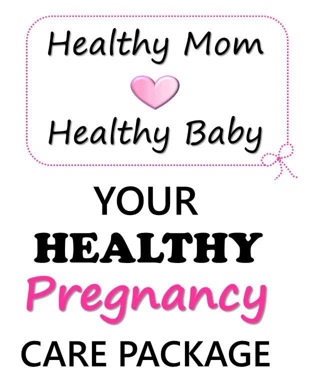 healthy pregnancy care package #pregnancy #healthypregnancy