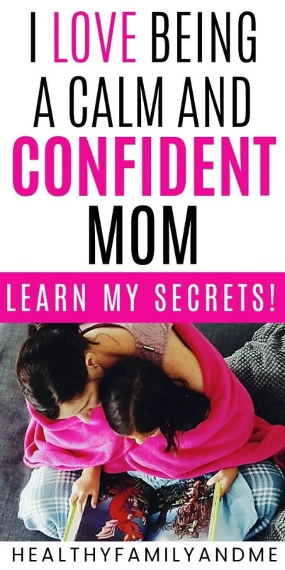 mom and daughter with how to be a confident mom secrets