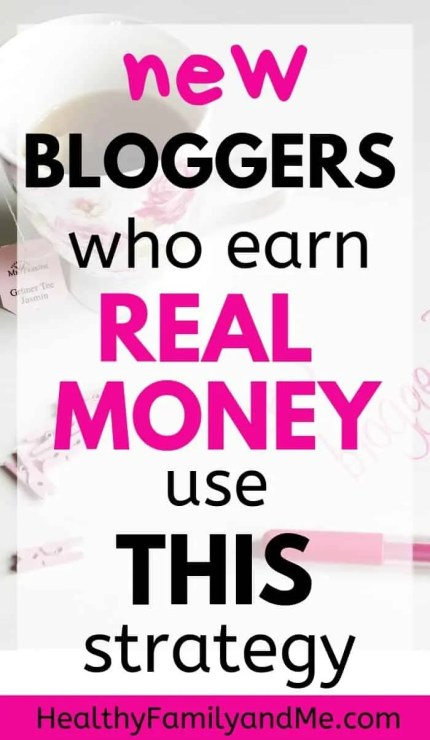 Best tips for new bloggers wanting to start a blog and make money online. Use this strategy to succeed at blogging. #blogging #bloggingforbeginners #bloggingtips