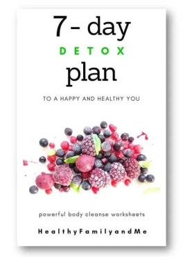 Healthy Lifestyle - 7 Day Detox Plan - Healthy Family and Me