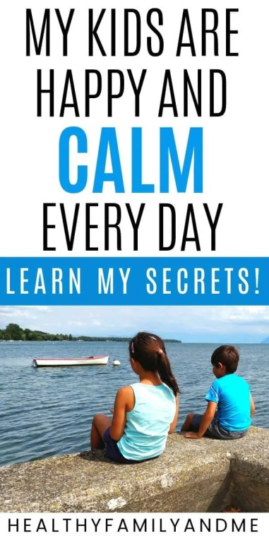 How do you calm down your child? An epic parenting problem we all struggle with! Here's my secrets and best parenting tips on how to calm kids down anywhere. It works very well to handle toddler tantrums and includes a free printable to help you. Give it a try! #parenting #parentingtips #parentinghacks #calmdown #tantrum #toddlerlife
