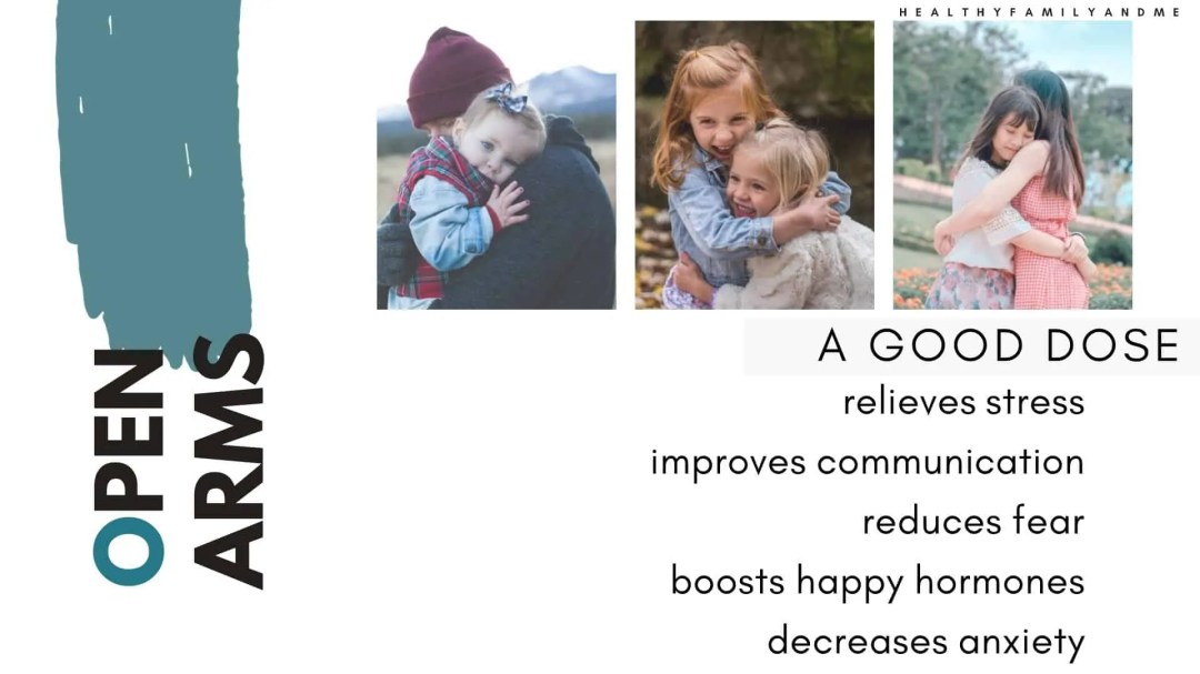 open arms, The needs of a child. that one thing every child needs from their parents. Raising kids with great parenting tips #kidsneeds #parenting